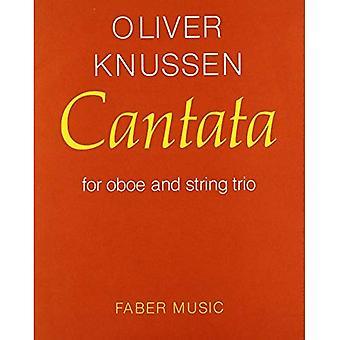 Cantata: (Oboe and String Trio Study Score) (Faber Edition)