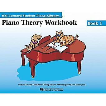 Libro di cartella di lavoro di pianoforte teoria 1: Hal Leonard Student Piano Library