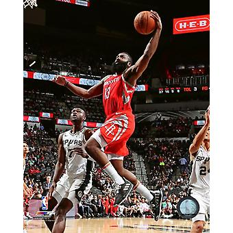 James Harden 2018-19 Action Photo Print