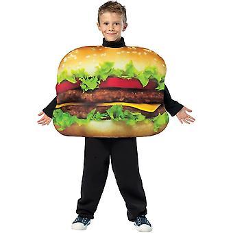 Cheeseburger kind kostuum