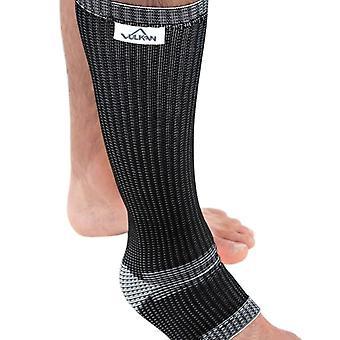 Vulkan Advanced Elastic Calf & Shin Sports Injury Support Black