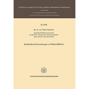Analytische relevantes ein Polyamidfasern von Rossbach & Volker