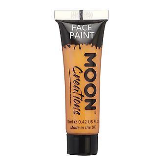 Gezicht & Body Paint door Moon creaties - 12ml - oranje