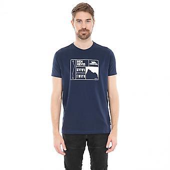 Hausfriedensbruch Mens Nev schnell trocken Kurzarm Graphic T-Shirt