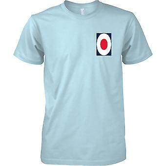 Logotipo da RAF - real força aérea t-shirt cor