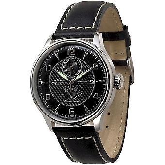 Zeno-watch Herre ur Godat II + power reserve 6273GMTPR-g1