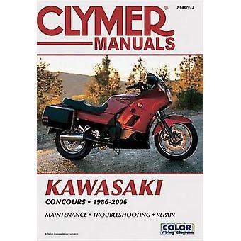 Kawasaki Zg1000 Concours 1986-2006 by Penton - 9781599696515 Book