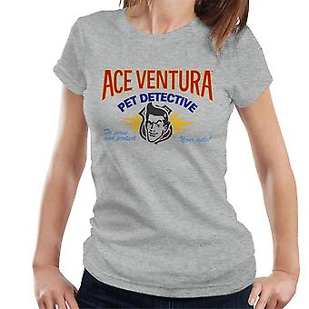 Ace Ventura Pet Detective Logo Women's T-Shirt