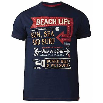 DUKE Duke Beach Life Print T Shirt
