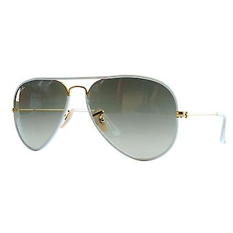 Ray-Ban Aviator Gradient Gold Sunglasses - RB3025-001/M2-58