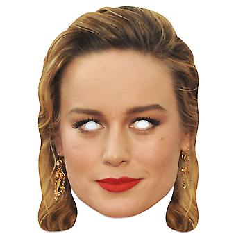 Brie Larson Single 2D Card Party Fancy Mekko Naamio