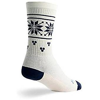 Socks - SockGuy - Holiday/Limited Edition Holly Day S/M Cycling/Running