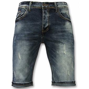 Basic Shorts - New Damaged - Blue