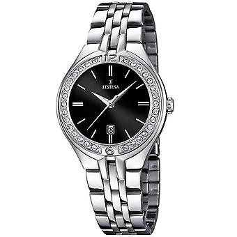Festina Mademoiselle Quartz Analog Women's Watch with Stainless Steel Bracelet F16867/2