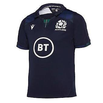 2019-2020 Scotland Home Replica Rugby Shirt (Kids)