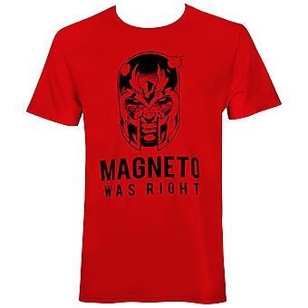 X-Men Magneto Was Right Men's T-Shirt