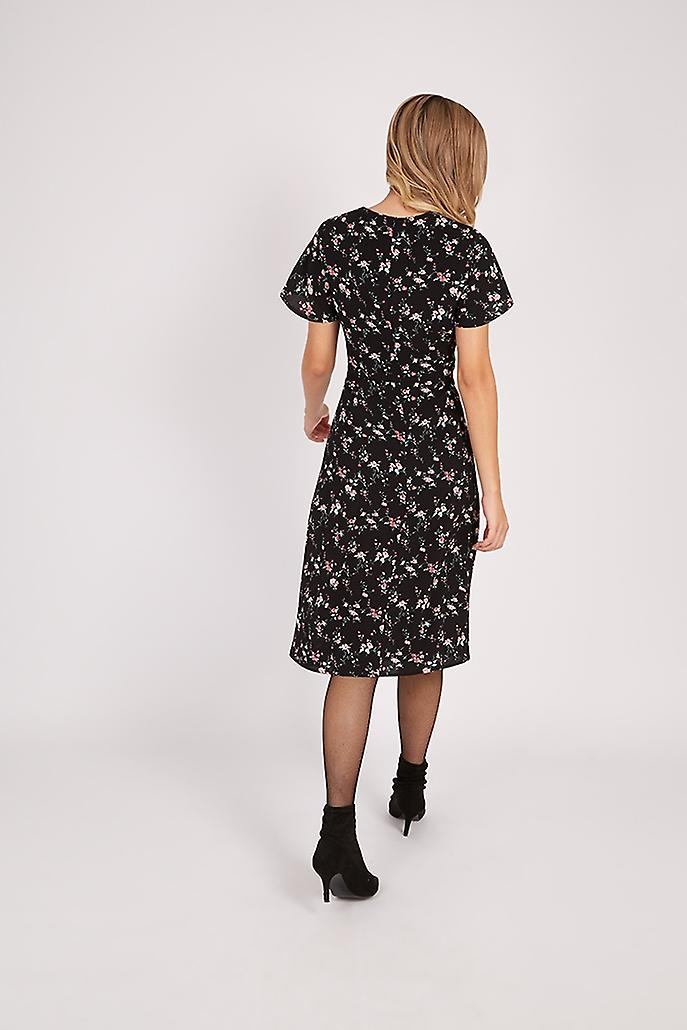 Joy Saphia Ditsy Floral Midi Dress
