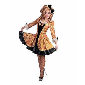 Königin Prinzessin Kurz Barock Damenkostüm Edeldame Gräfin Karneval Fasching Kostüm Damen