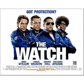 The Watch Poster Double Sided (Quad) (2012) Original Cinema Poster