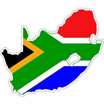 Sticker Sticker Adhesif Vinyl Car Flag Map South Africa