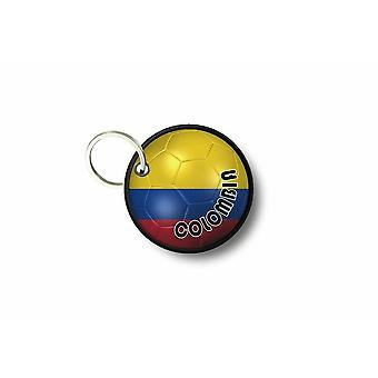 Cle Cles Key Brode Patch Ecusson Flag Balloon Flag Colombia