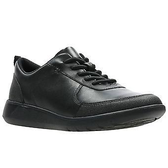 Clarks Scape Street Y Boys School Shoes