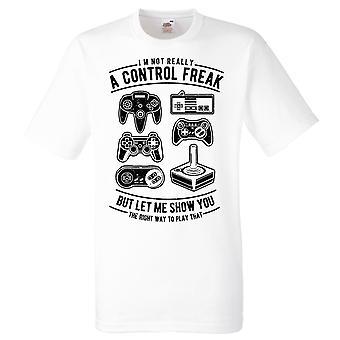 Gamer T-shirt-controle freak