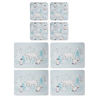 Cooksmart Frosty Morning Placemats and Coasters