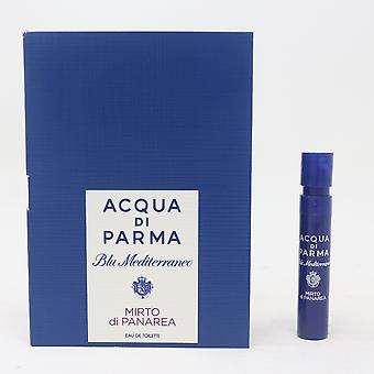 Mirto Di Panarea by Acqua Di Parma Eau De Toilette 0.04oz/1.2ml Spray New