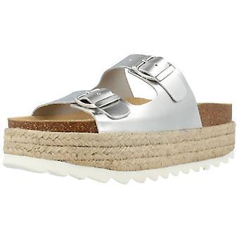 Jeffrey Campbell sandalen 265079 zilver kleur