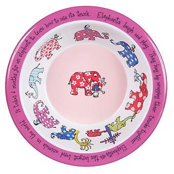 Tyrrell Katz Elephants Melamine Bowl