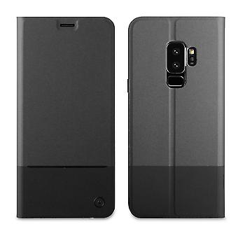 Case For Samsung Galaxy S9 Folio Stand Black