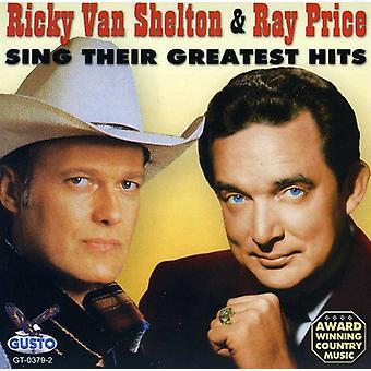 Precio Shelton - importación de Estados Unidos Sing Their Greatest Hits [CD]