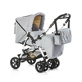 Chipolino Dakota 2 in 1 with sunroof, foot bag and changing bag