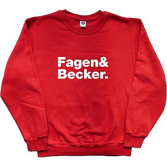 Steely Dan Line-Up Red Sweatshirt