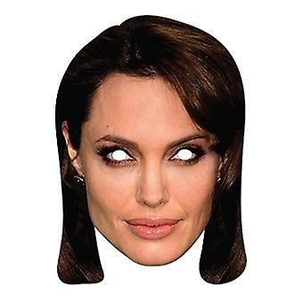 Angelina Jolie Celebrity Card Party Fancy Kjole Maske