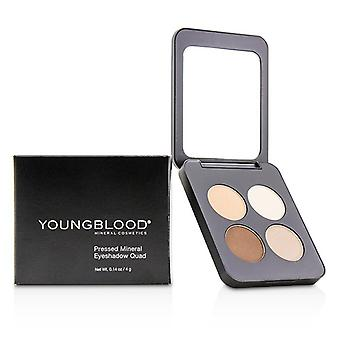 Youngblood Pressed Mineral Eyeshadow Quad - City Chic 4g/0.14oz