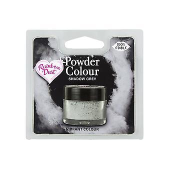 Poeira do arco-íris comestível Matt Powder Dust Colour 4g Shadow Grey