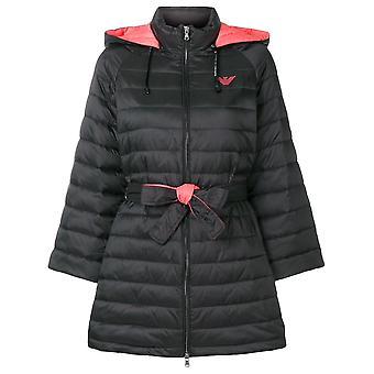 Belted Padded Coat Jacket