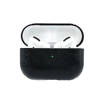 Crazy Horse Shell pour Apple AirPods Pro - Noir
