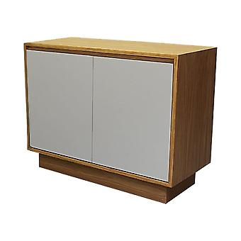 Fusion Living Contemporary Oak e Grey Small Sideboard