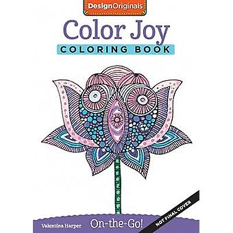 Color Joy Coloring Book  Perfectly Portable Pages by Valentina Harper