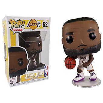 NBA Lakers Lebron James (White Uniform) Pop! Vinyl