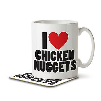 I Love Chicken Nuggets - Taza y montaña rusa