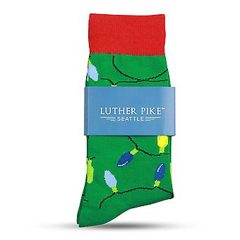 Christmas Socks For Women: Ultra Soft Holiday Crew Sock, Green, Size One Size
