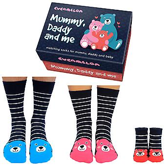 Cucamelon Mummy, Daddy And Me Sock Gift Set
