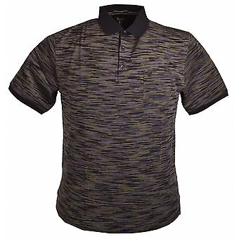 Hajo Patterned Cotton Polo