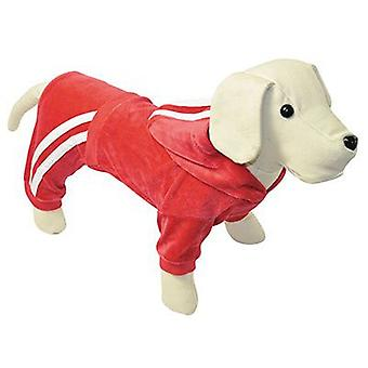 Nayeco Chandal pour Chiens Velours Rouge 50 cm