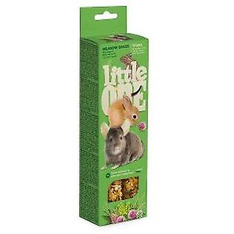Little One Palitos de Snacks con Pasto de Prado (Small pets , Treats)