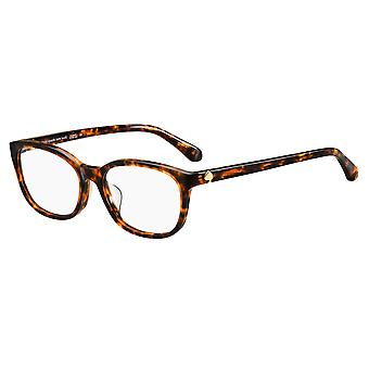 Kate Spade Trulee/F 086 Dark Havana Glasses